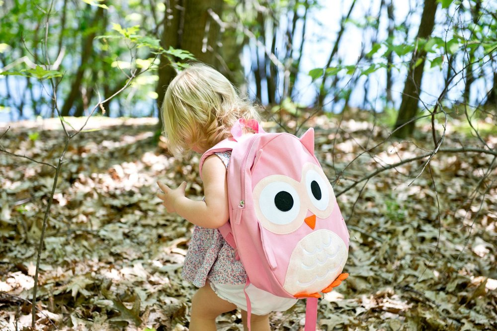 The Piggy Story Owl Backpack