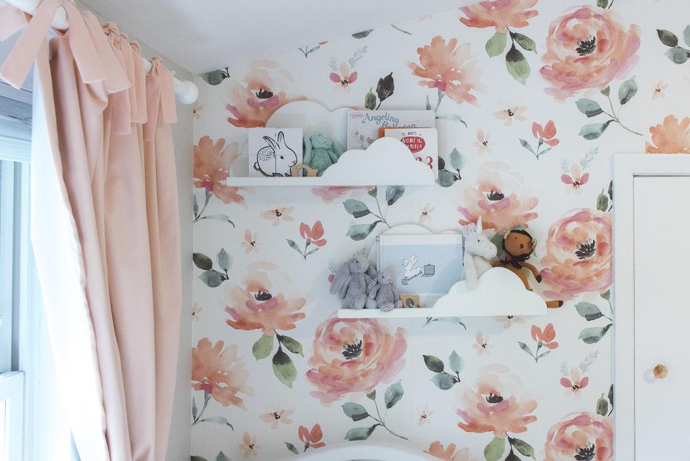 nursery wall paper