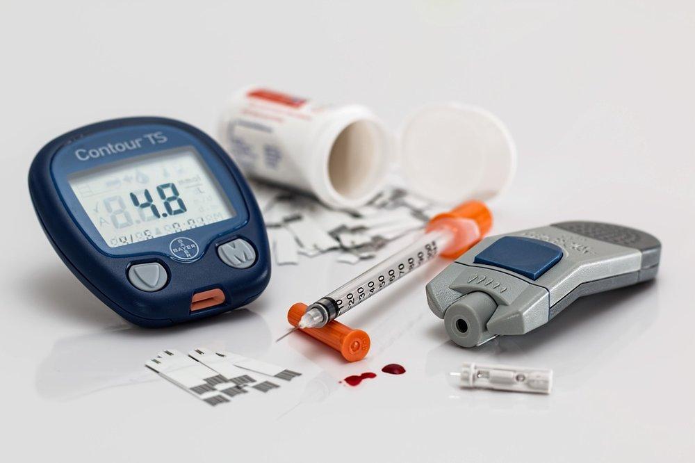 Diabetes Type 1 + Type 2