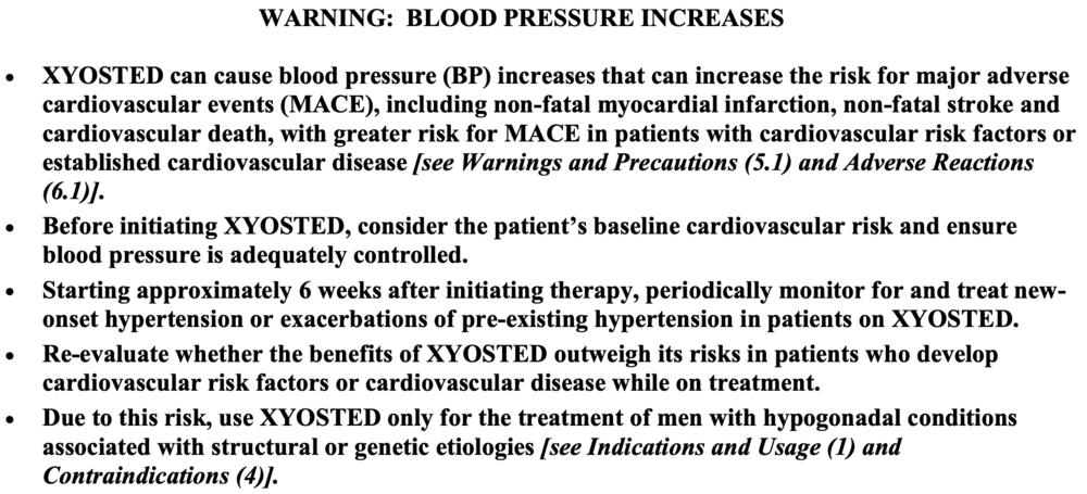 FDA Box Warning