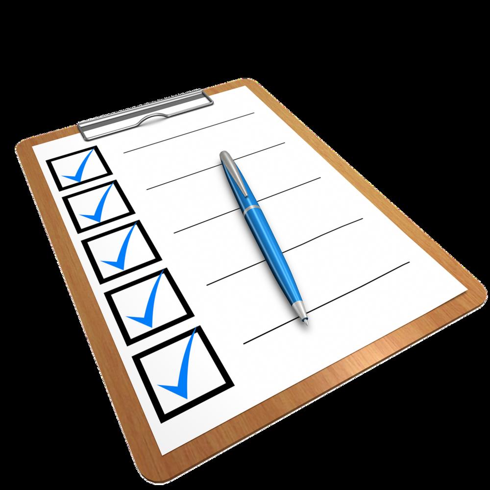 GTH checklist