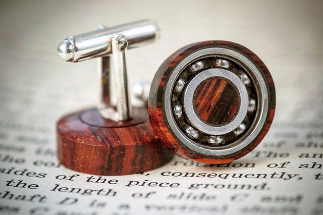 "I'm thinking of revisiting these ""fidgeting"" cufflinks as I really enjoyed making them - what do you think?"