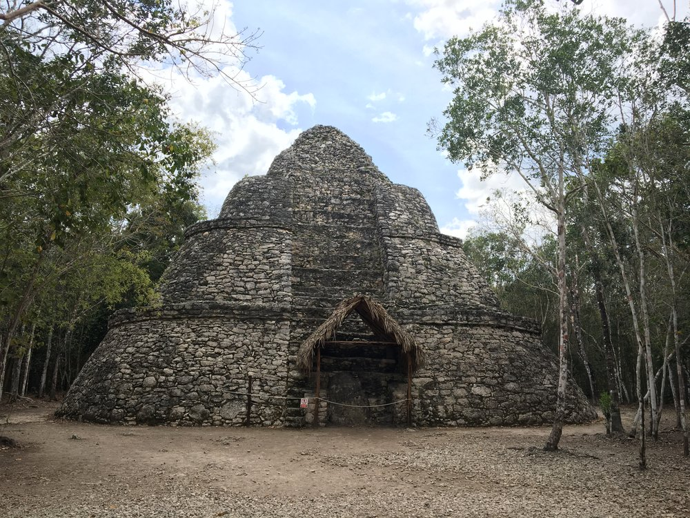 Coba Crossroads Temple on NORASIBLEY.COM