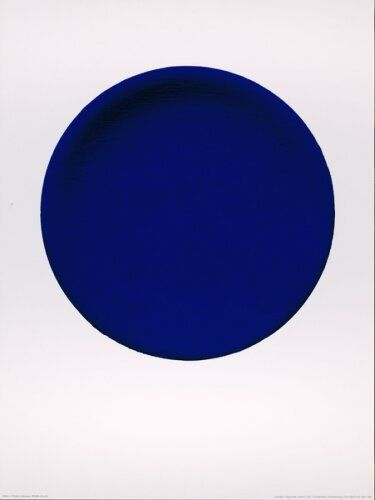 Yves Klein, Blue Circle. 1957