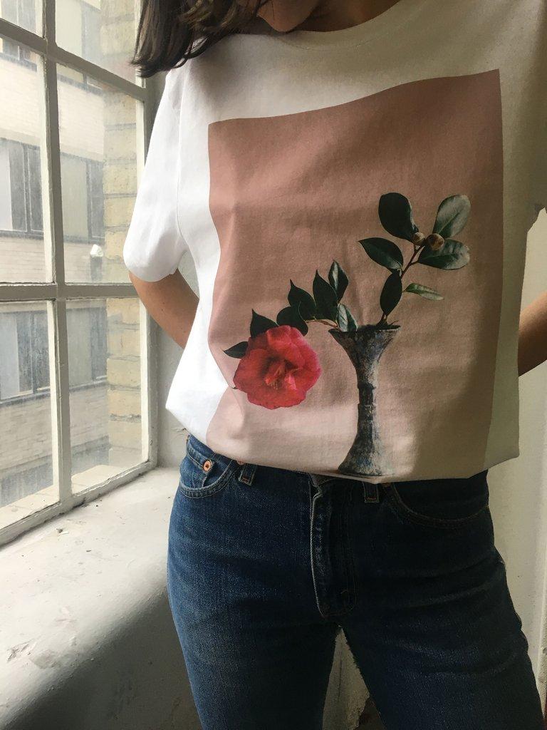 Camellia T-Shirt Colour from Pleasure Garden