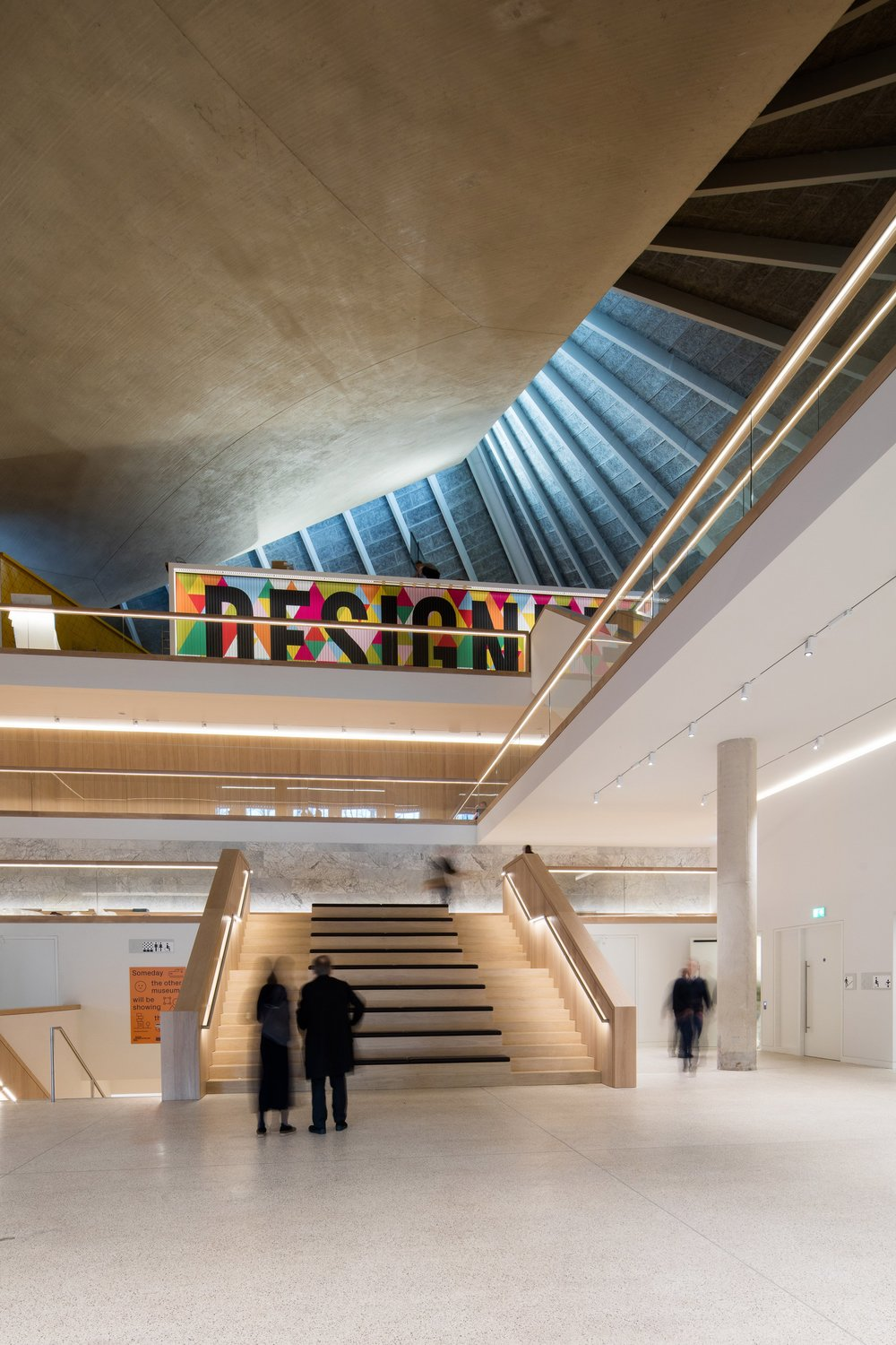 Main entrance space at the London Design Museum - Photograph by Luke Hayes