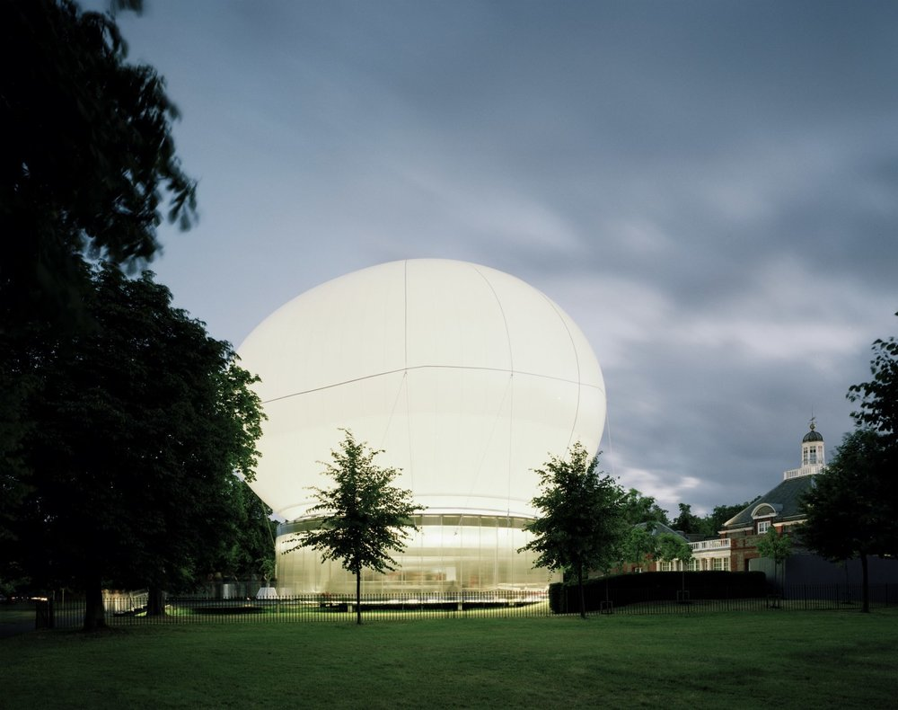 Image 9 of 34   Serpentine Gallery Pavilion 2006 by Rem Koolhaas and Cecil Balmond with Arup