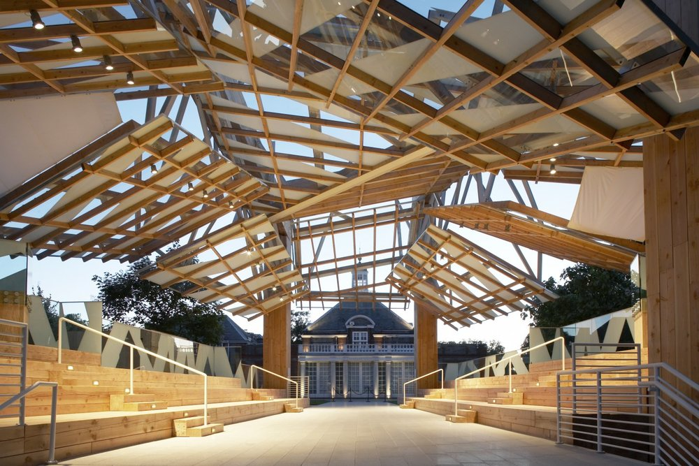 Image 14 of 34   Serpentine Gallery Pavilion 2008 by Frank Gehry