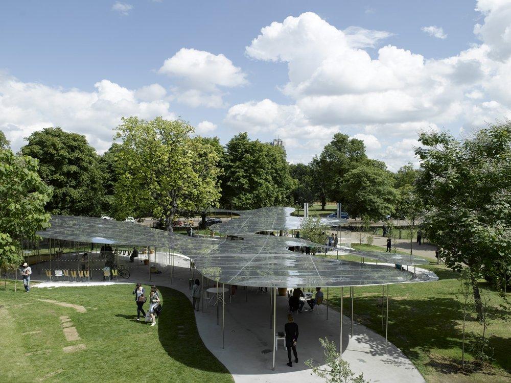 Image 15 of 34   Serpentine Gallery Pavilion 2009 by Kazuyo Sejima and Ryue Nishizawa of SANAA