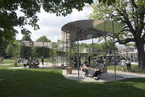 Image 16 of 34   Serpentine Gallery Pavilion 2009 by Kazuyo Sejima and Ryue Nishizawa of SANAA