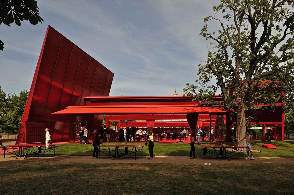 Image 18 of 34   Serpentine Gallery Pavilion 2010 by Jean Nouvel