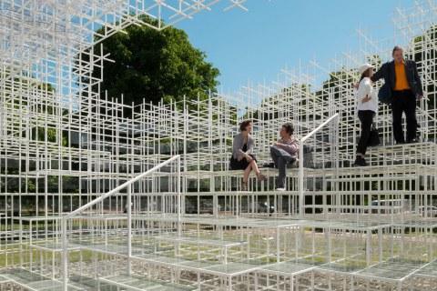 Image 24 of 34   Serpentine Gallery Pavilion 2013 by Sou Fujimoto