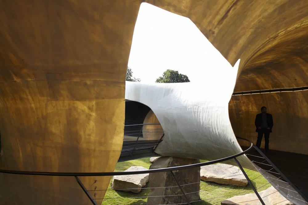 Image 26 of 34   Serpentine Gallery Pavilion 2014 by Smiljan Radić