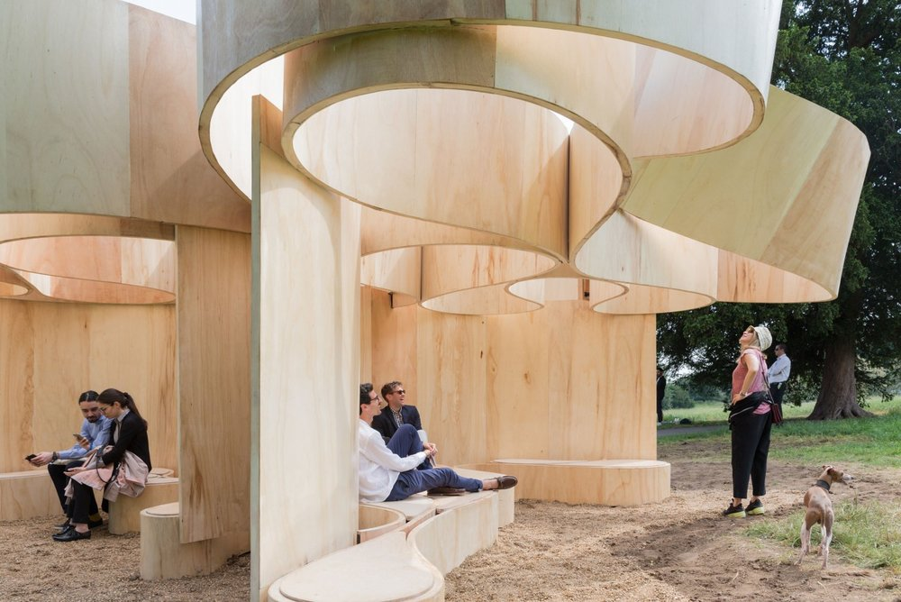 Image 30 of 34   Serpentine Summer Houses 2016 by Barkow Leibinger