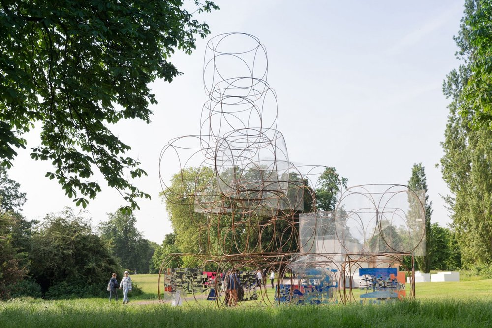 Image 31 of 34   Serpentine Summer Houses 2016 by Yona Friedman