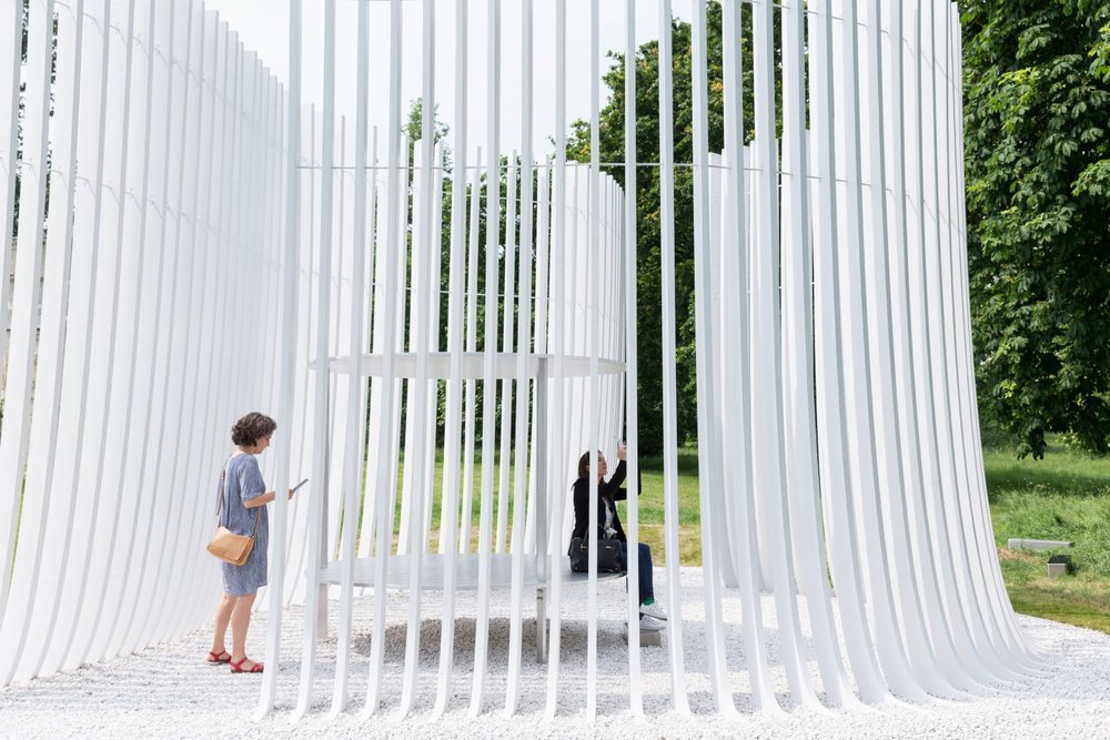 Image 32 of 34   Serpentine Summer Houses 2016 by Asif Khan