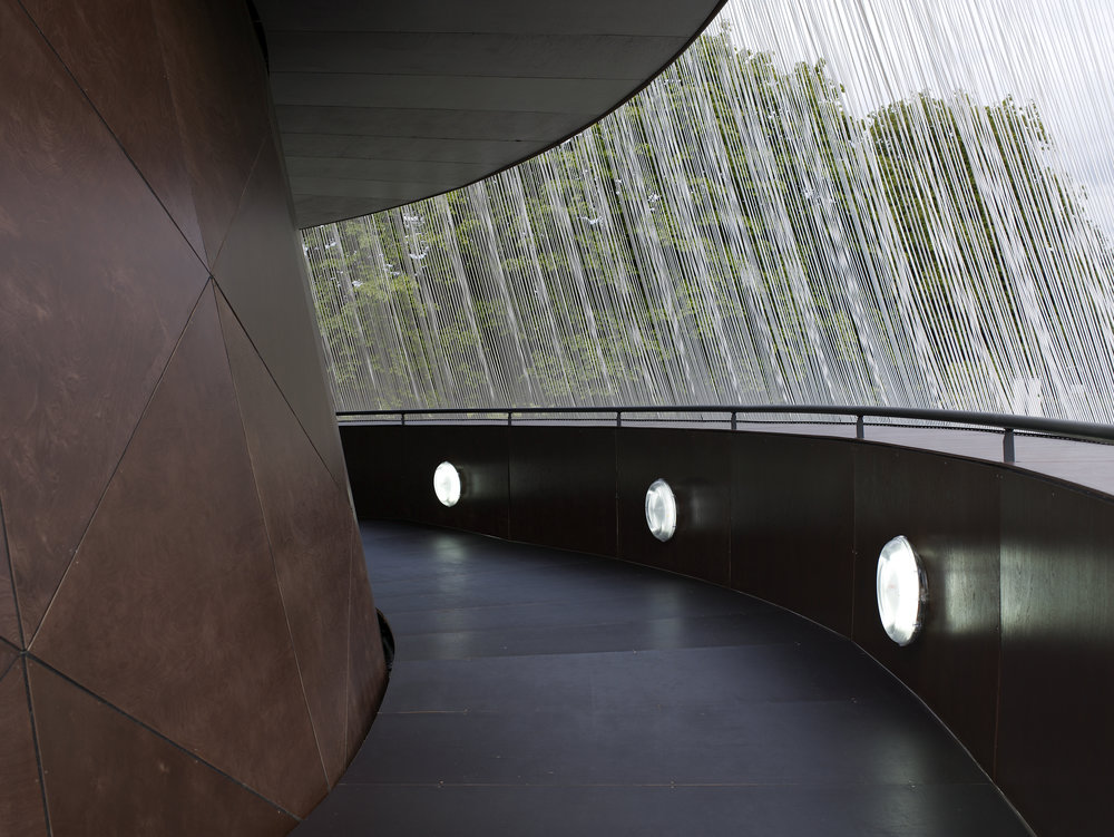 Image 12 of 34   Serpentine Gallery Pavilion 2007 by Olafur Eliasson and Kjetil Thorsen