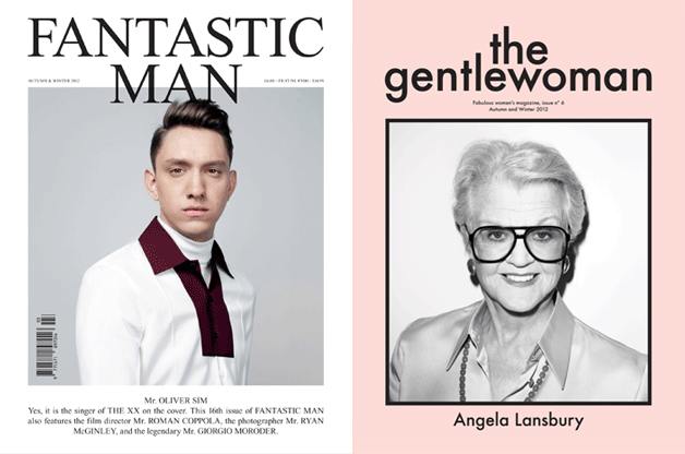 The Gentlewoman Issue #6 - Autumn & Winter 2012 - Cover: Angela Lansbury
