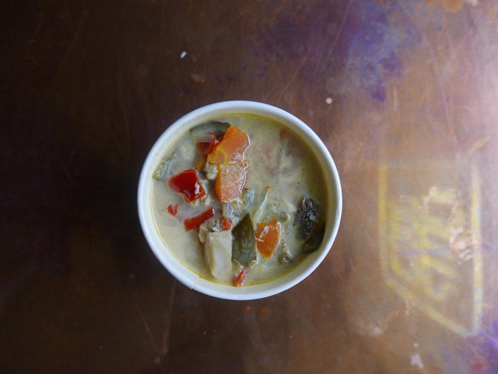 Thai Crab & Fish Curry