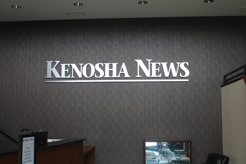 Kenosha News    Lizzie worked with a restoration company to update materials and finishes in this local newspaper building.
