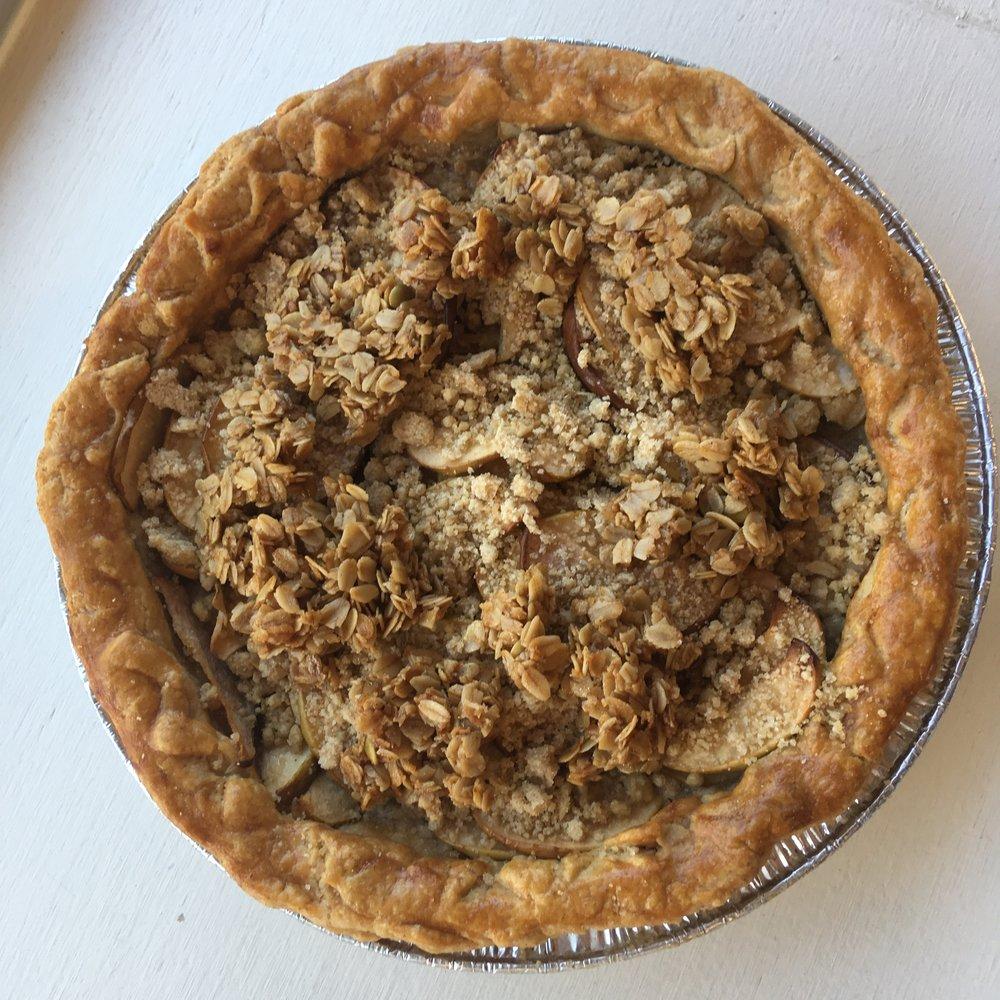 Pear apple cake