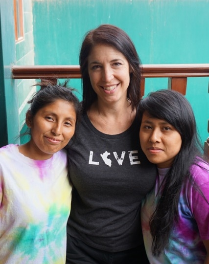 Carolyn Canouse- Board Member   Carolyn was born in Connecticut in 1968, and studied Finance at Stetson University in Florida.   She has been serving in Peru since 2009 and has 3 daughters and a husband who also love mission work. In 2015 she co-founded Make a Miracle, a ministry that provides scholarships to young people in Peru. Currently, several women at Pat's Place have received scholarship funds to attend university and pay for trade school training.  Make a Miracle has also established several community centers in San Juan Lurigancho and has been instrumental in building dozens of homes in those impoverished communities too.  Pat's Place has won Carolyn and her husband, Jack's hearts from day one, and they love the women and children like family.