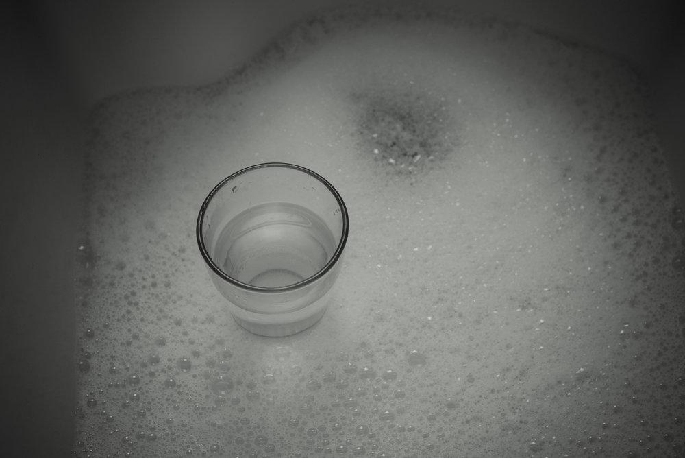 kitchen sink bubbles
