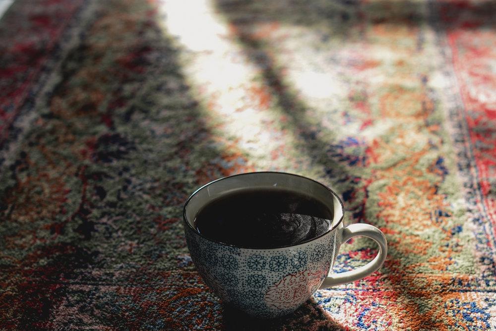 tea and carpet