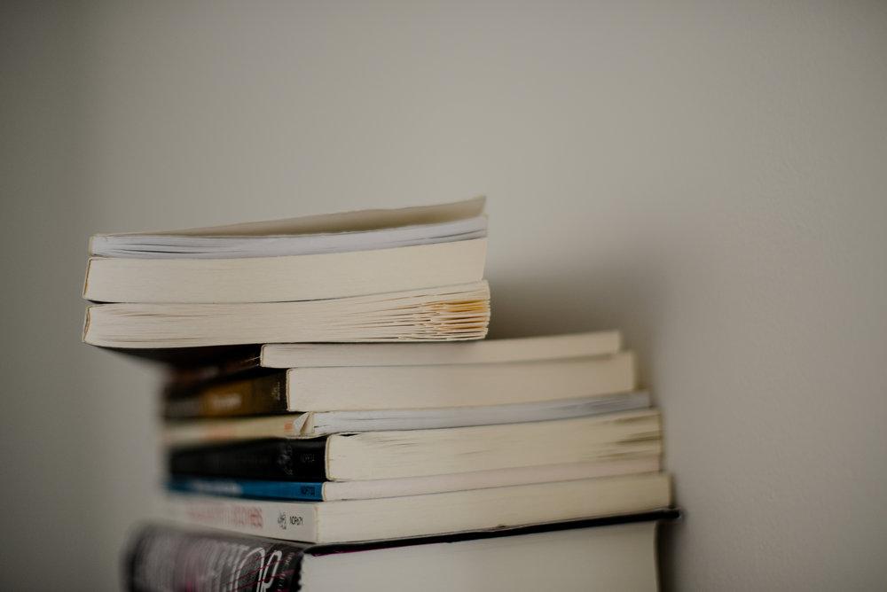 dog-eared books