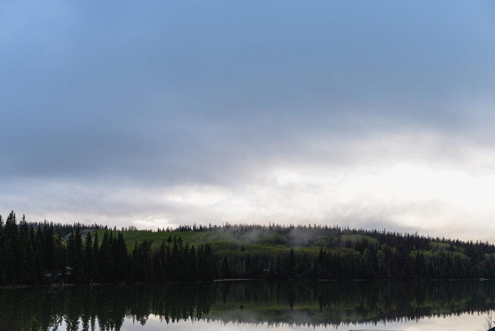 Pyramid Lake morning