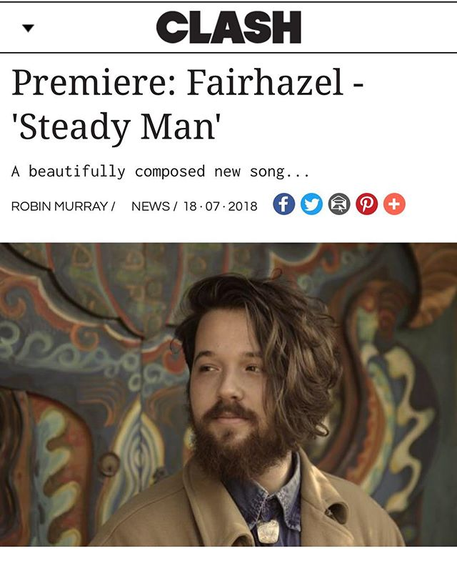 @clashmagazine premiered steady man today. absorb it and let me know what you think. link en bio.