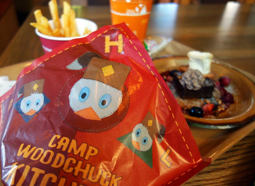 Meal Set at Camp Woodchuck