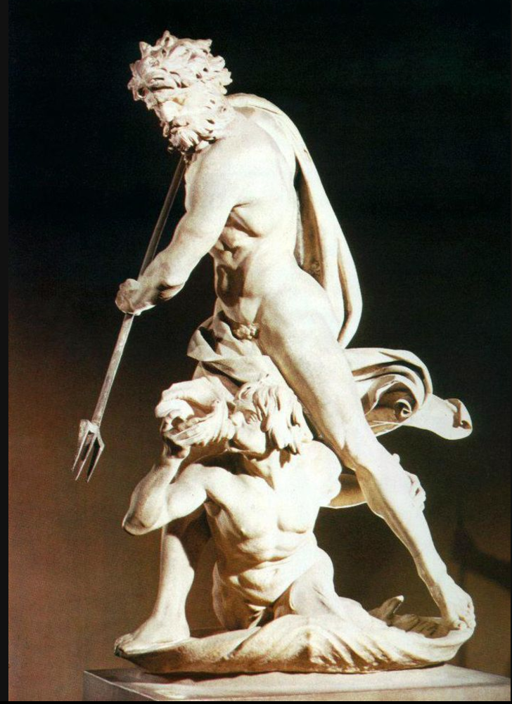 Neptune & Triton, Borghese Gallery in Rome  WikiArt.org