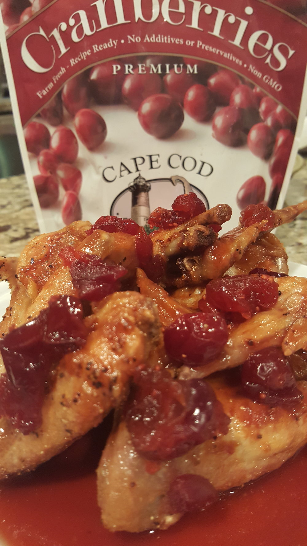 Cranberry Wings