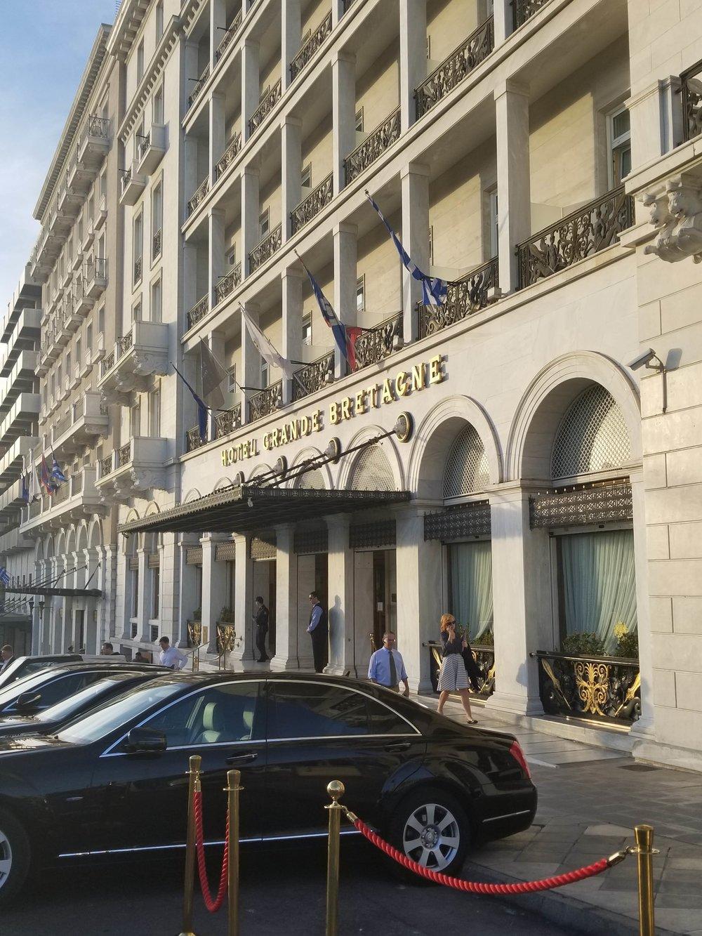 Hotel Grande Bretagne -