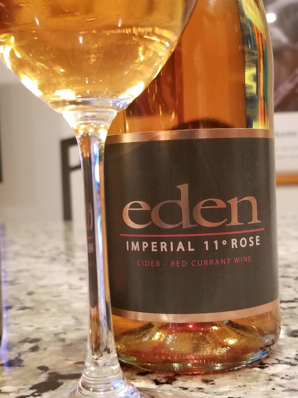 Imperial 11° Rosé - This cider rosé drinks like a wine. Made from apples & red currants with no coloring or additives. The nose is full of strawberry, cherry with hints of spiced roses. So bright & flavorful with a full body. A natural sweetness that every palate will love.