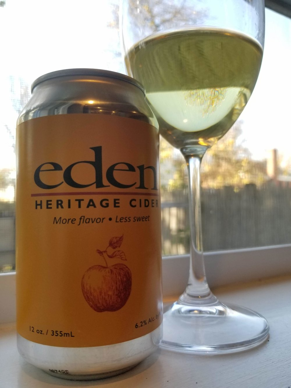 Heritage Cider (can) - This Heritage cider is the perfect balance of fruit & acidity. Its fermented dry with small % of Eden's Ice Cider. According to my palate, this cider is perfection. I would be happy to drink this lounging inside or while watching sports outdoors.