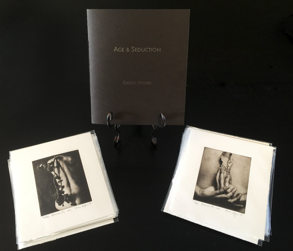 Collector's Edition includes your choice of one of these original photopolymer gravures. to order go to  https://lightartspace.com/shop/