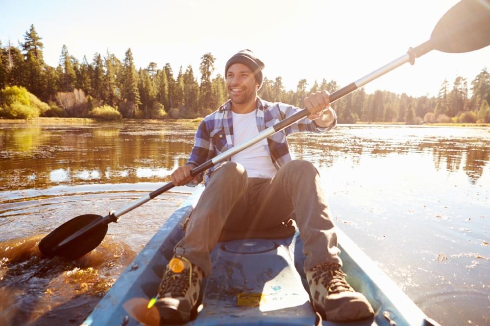 Guy Canoeing
