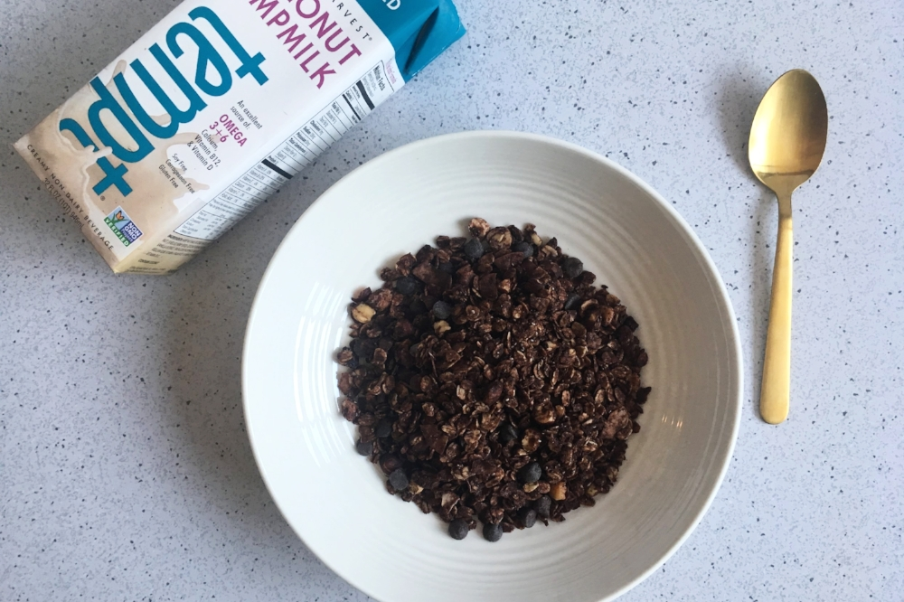 Double Chocolate Gluten Free Granola