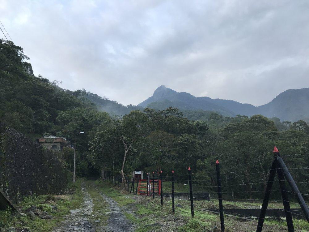 After driving several miles Pico de Loro comes in sight.