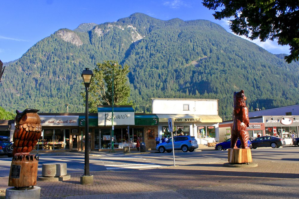 Downtown Hope, BC