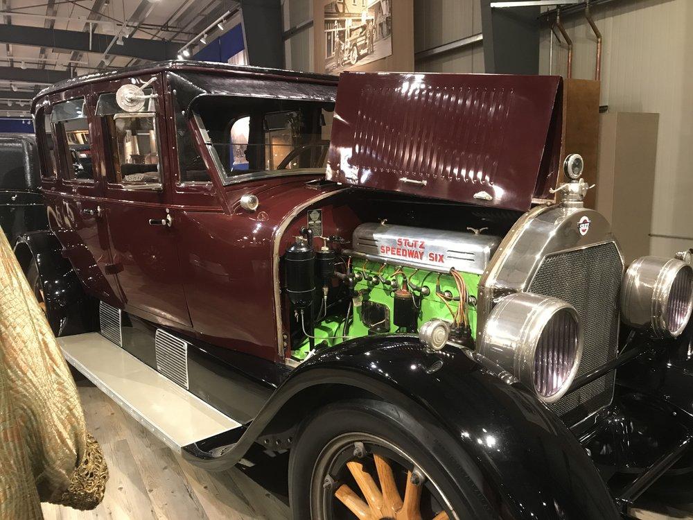 Vintage auto museum, it was excellent.