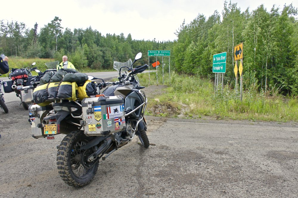 Entrance to the Dalton Highway.