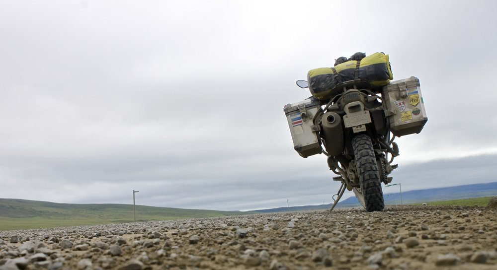 Nice road to Prudhoe Bay.
