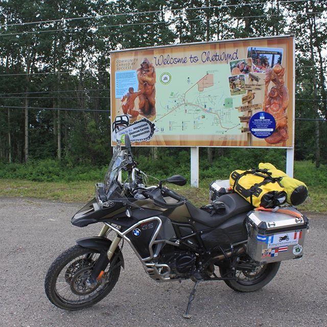#advrider #f800gsa #bmwmotorrad #riding4adventure #canada #britishcolumbia #chetwynd