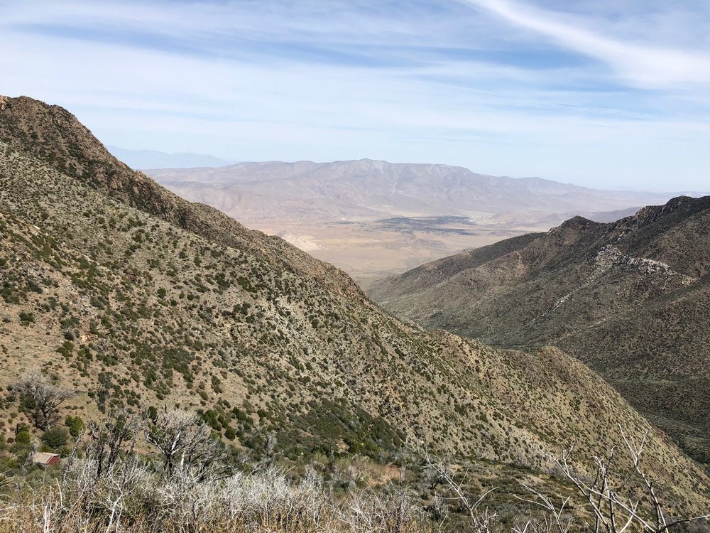 Desert to east of the PCT.