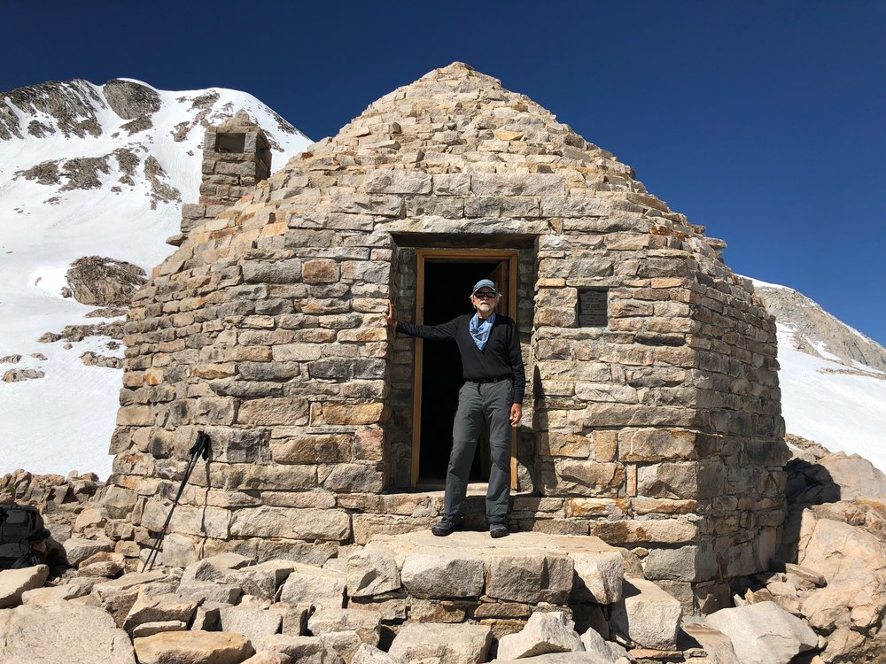 Muir cabin atop Muir Pass