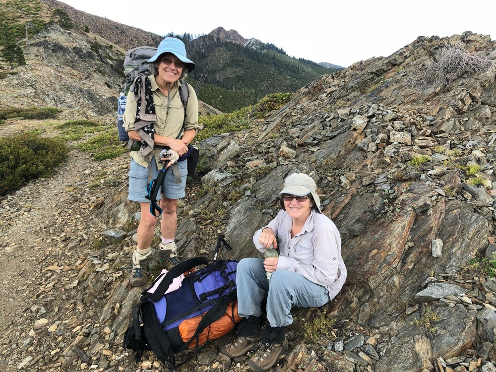 These ladies finished section hiking the PCT.  It took several years to hike the entire 2665 miles