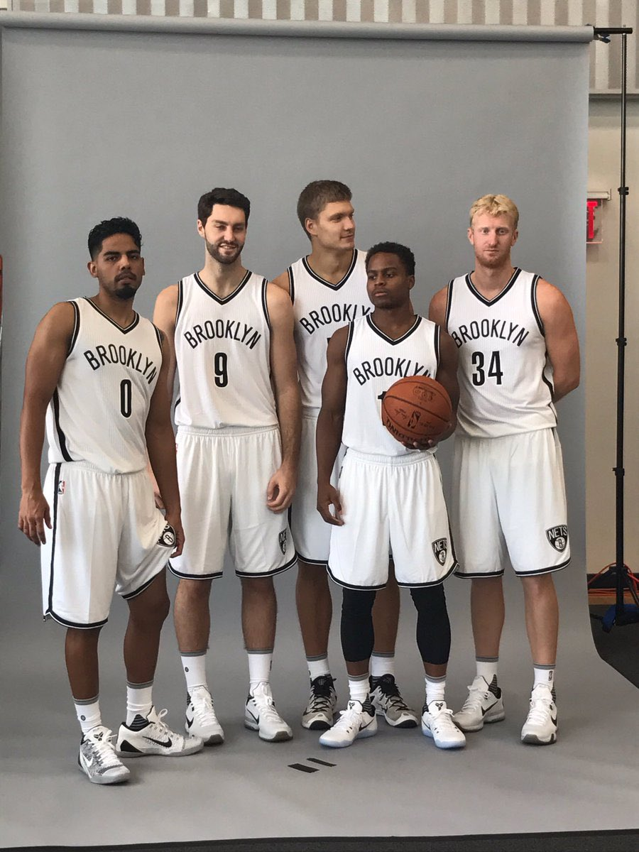 Your 2016-17 Nets everyone! 1 point for every player you recognize, the high score is 1.